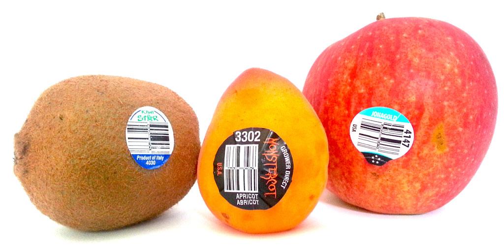 فروش اینترنتی انواع لیبل میوه ها